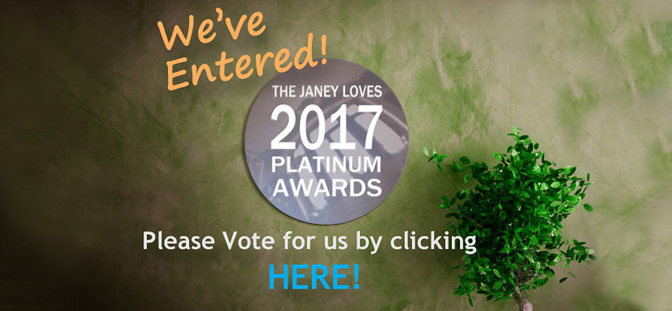 Vote for us in the 'Janey Loves' Awards