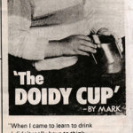 Doidy Cup press ad 1980's