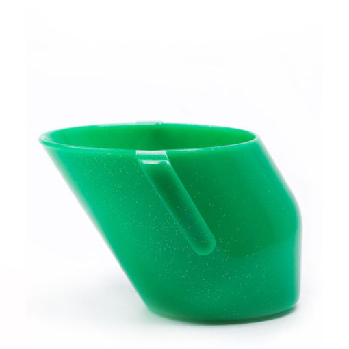 Doidy Cup Green Sparkle