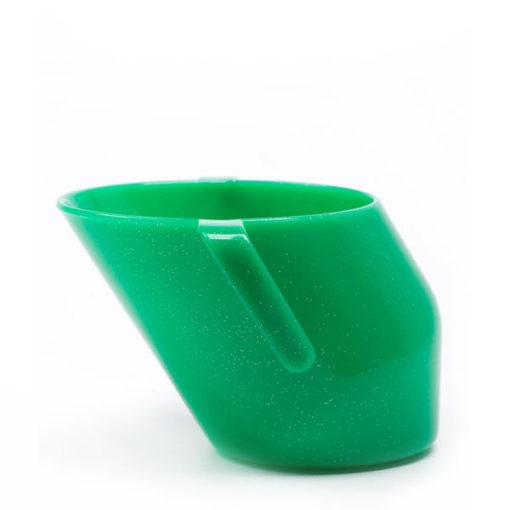 Doidy Cup Green Sparkle