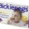 Bickiepegs Natural Teething biscuits