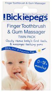 Finger brush & gum massager