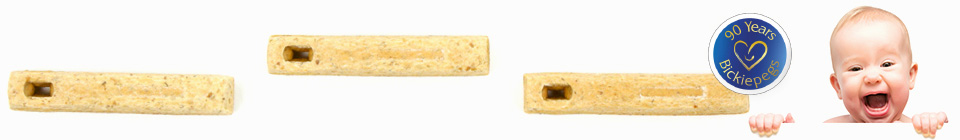 Bickiepegs Natural Teething Biscuits 90 Years