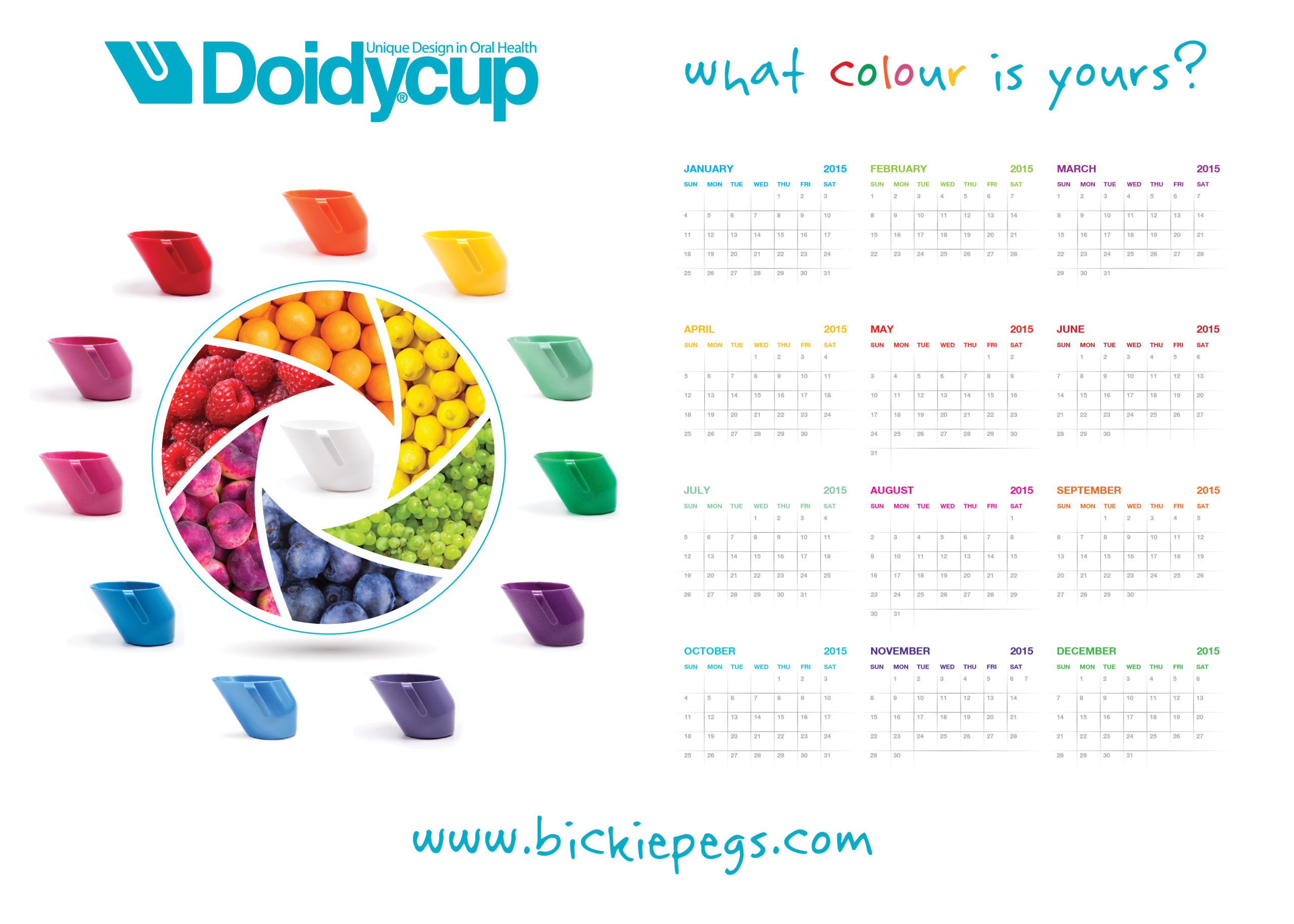 Colour Chart Doidy Cup