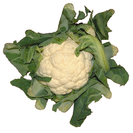 Cauliflower white