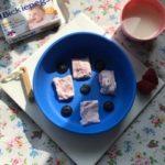 Yogurt bark for teething